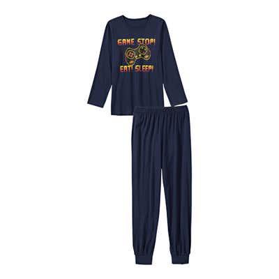 Jungen-Schlafanzug mit Gamer-Motiv, 2-teilig