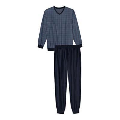 Herren-Schlafanzug mit schickem Muster, 2-teilig