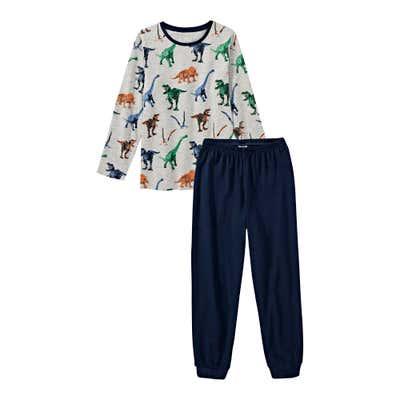 Jungen-Schlafanzug mit Dinosaurier-Muster, 2-teilig