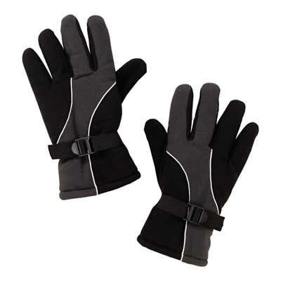 Herren-Handschuhe mit Mikrofleece-Futter