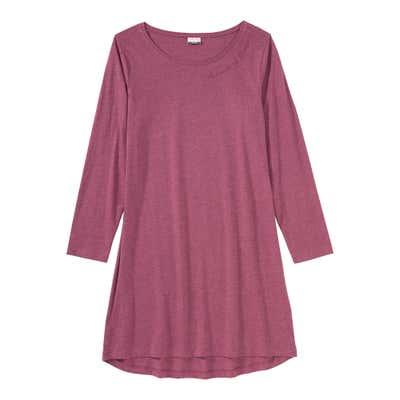 Damen-Nachthemd mit kleinem Aufdruck