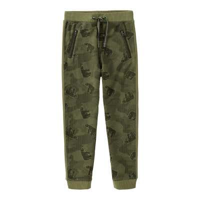 Jungen-Jogginghose in Camouflage-Optik