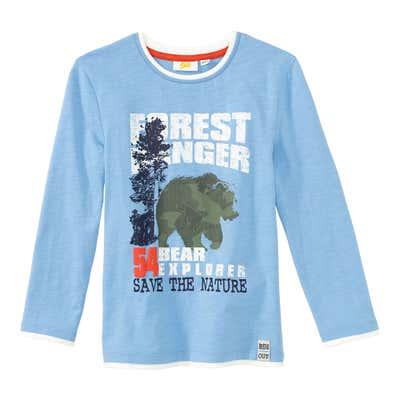 Jungen-Shirt mit Bären-Aufdruck