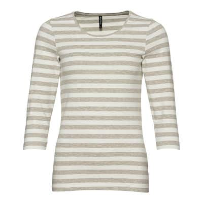 Damen-Shirt mit Ringelmuster