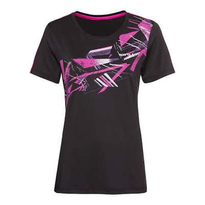 Damen-Fitness-T-Shirt mit Aufdruck