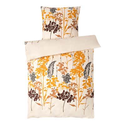Biber-Bettwäsche mit Blumendesign