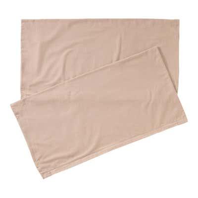 Kissenbezug in Biber-Qualität, 40x80cm, 2er Pack