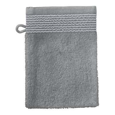 Waschhandschuh mit Bordüre, 16x21cm