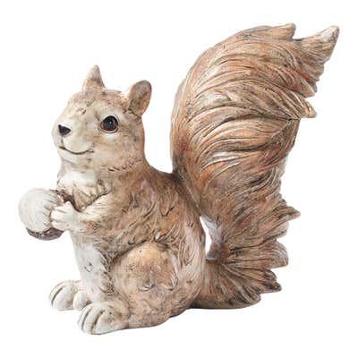 Deko-Eichhörnchen in verschiedenen Ausführungen, ca. 20x11x20cm