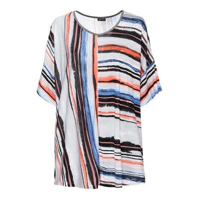 Damen-T-Shirt mit Glitzer-Effekten, große Größen