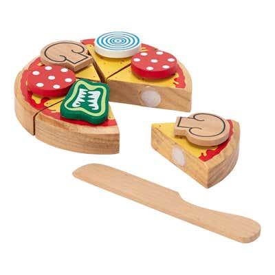 Spielzeug-Essen aus Holz