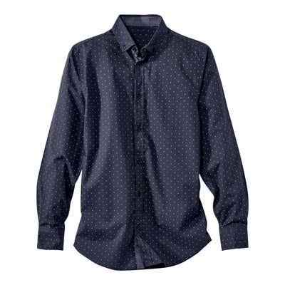 Herren-Hemd mit klassischem Kentkragen
