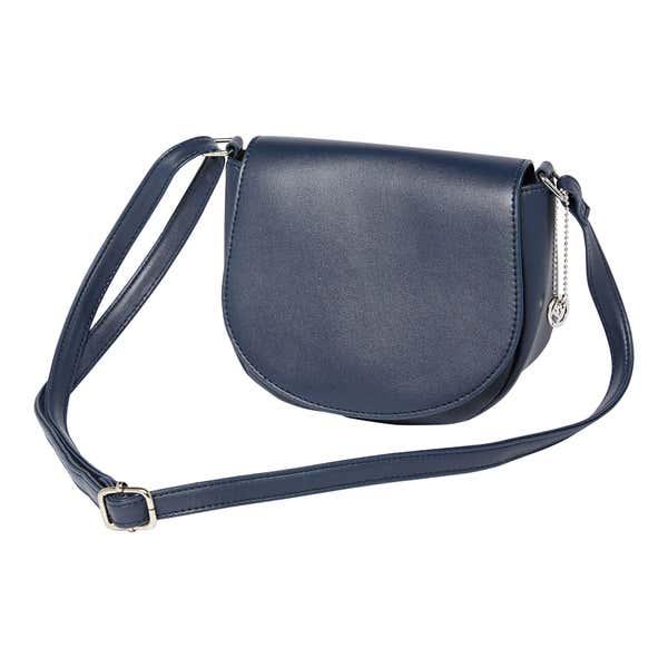 Damen-Handtasche mit schicker Klappe