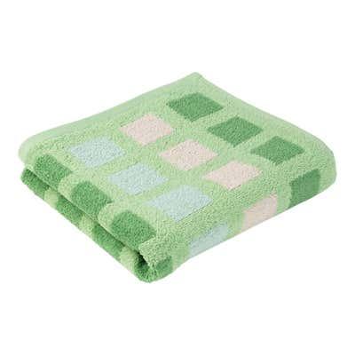 Handtuch mit Karodesign, 50x100cm