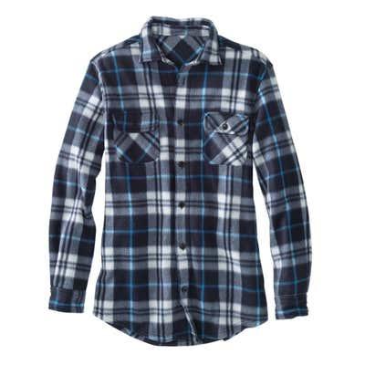 Herren-Fleecehemd mit 2 Brusttaschen