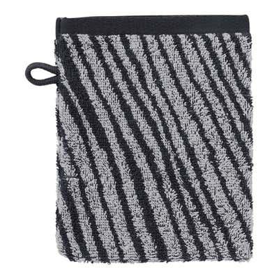 Waschhandschuh mit Zebra-Design, 16x21cm