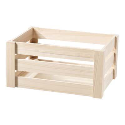 Holzbox in verschiedenen Größen