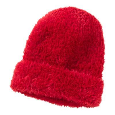 Damen-Mütze in flauschiger Qualität