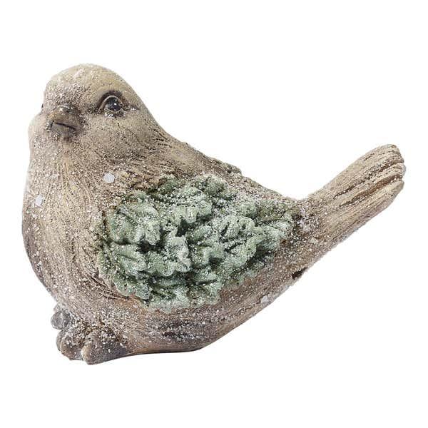 Figur Vogel aus Keramik, ca. 13x7x9cm