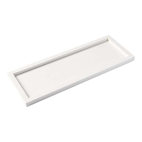 Deko-Tablett aus Holz, ca. 40x15cm