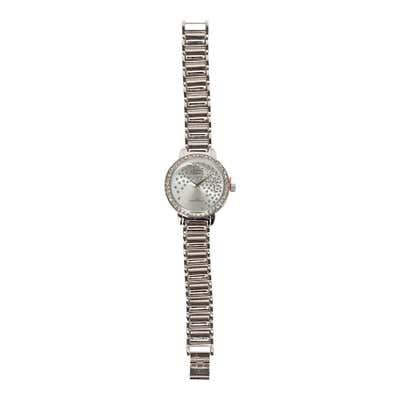 Damen-Armbanduhr mit Glitzer
