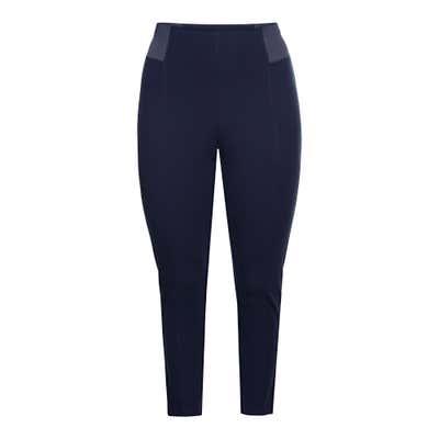 Damen-Ponti-Leggings, große Größen