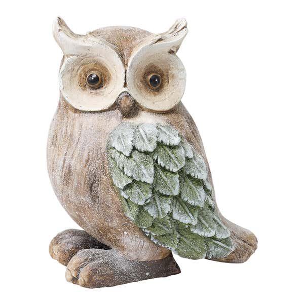 Deko-Eule aus Keramik, ca. 24x19x29cm