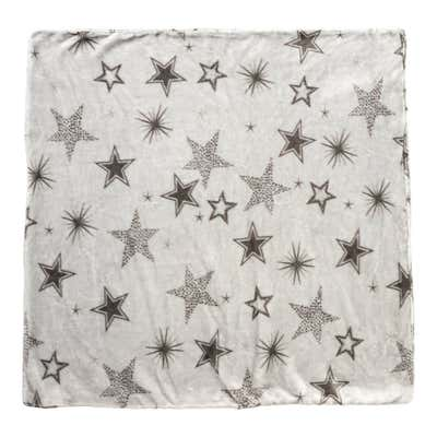 Flanell-Fleece-Bettwäsche mit Sternenmuster