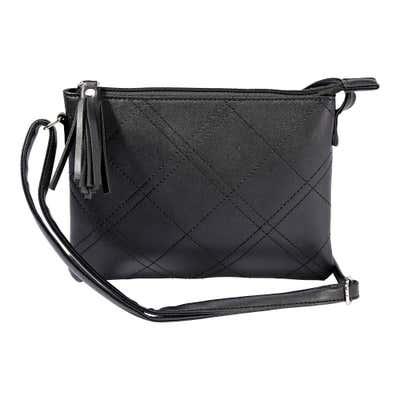 Damen-Handtasche mit Ziersteppung