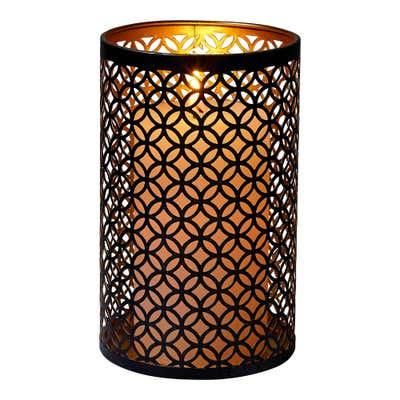 Kerzenhalter aus Metall, verschiedene Größen