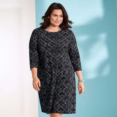 Damen-Kleid mit schönem Muster, große Größen