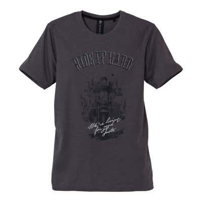 Herren-T-Shirt mit großem Brustdruck