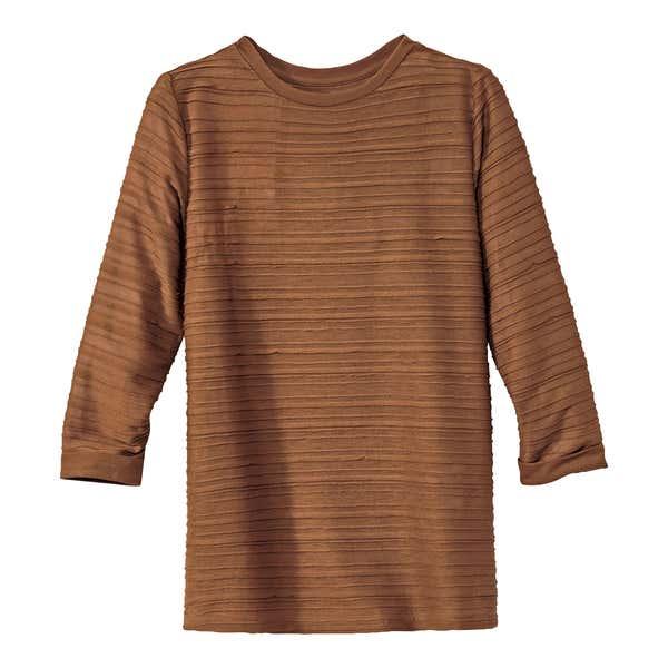 Damen-Shirt mit faszinierender Struktur