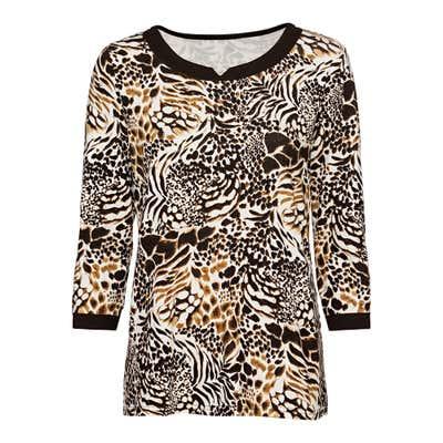 Damen-Shirt mit Glitzersteinchen