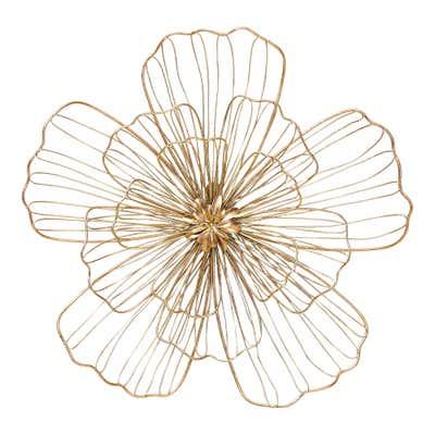 Wanddekoration in wunderschönem Blumen-Design, verschiedene Größen