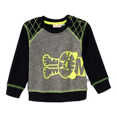 Baby-Jungen-Sweatshirt mit Tiger-Motiv