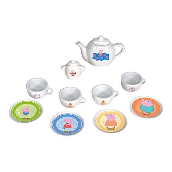 Spiel-Porzellan-Teeset, 10-teilig