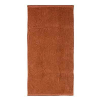 Duschtuch mit Bordüre, 70x140cm