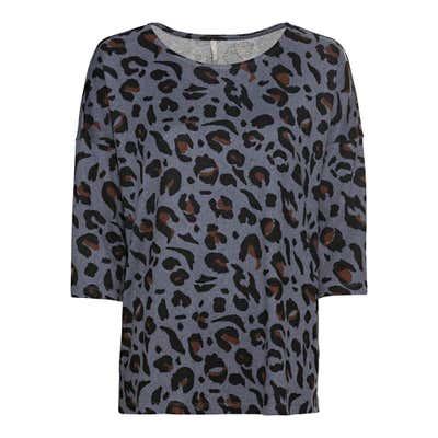 Damen-Sweatshirt in Feinstrick-Qualität