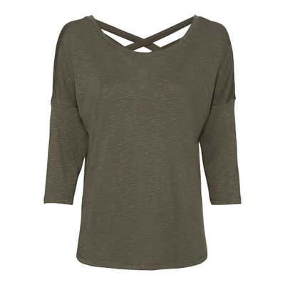 Damen-Sweatshirt mit Zierbändern
