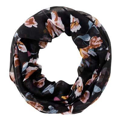 Damen-Loop-Schal mit Muster, 2er Pack