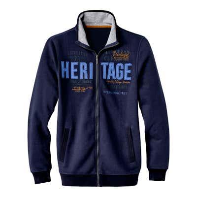 Herren-Sweatshirt mit weichem Innenfutter