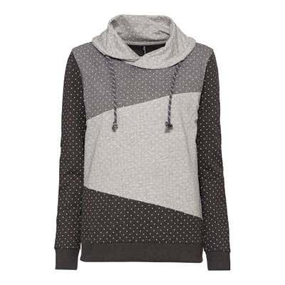 Damen-Sweatshirt mit Stehkragen