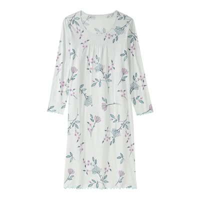 Damen-Nachthemd mit Blumendesign