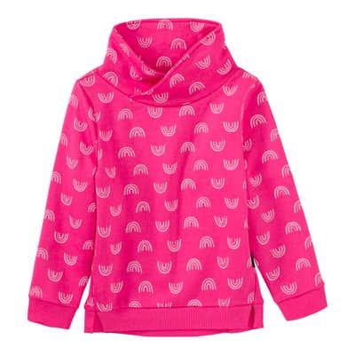 Mädchen-Sweatshirt mit Regenbogen-Design