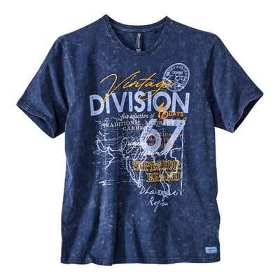 Herren-T-Shirt in verschiedenen Varianten, große Größen