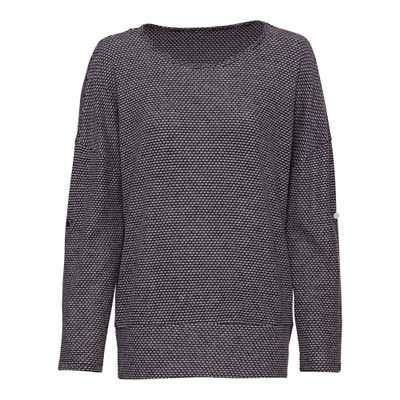 Damen-Sweatshirt mit Jaquard-Muster