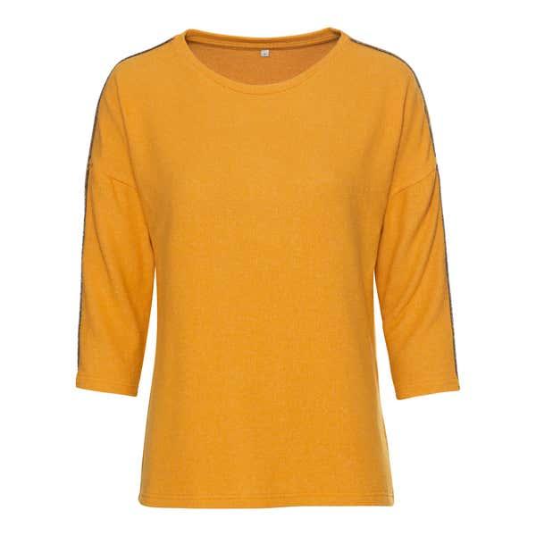 Damen-Sweatshirt mit Zierband