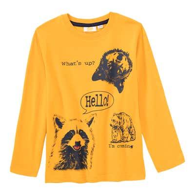 Jungen-Shirt mit Tierdesign