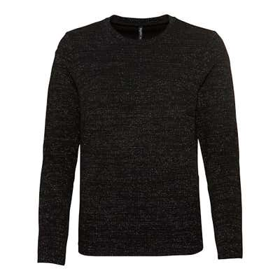 Damen-Sweatshirt mit Glitzerfäden